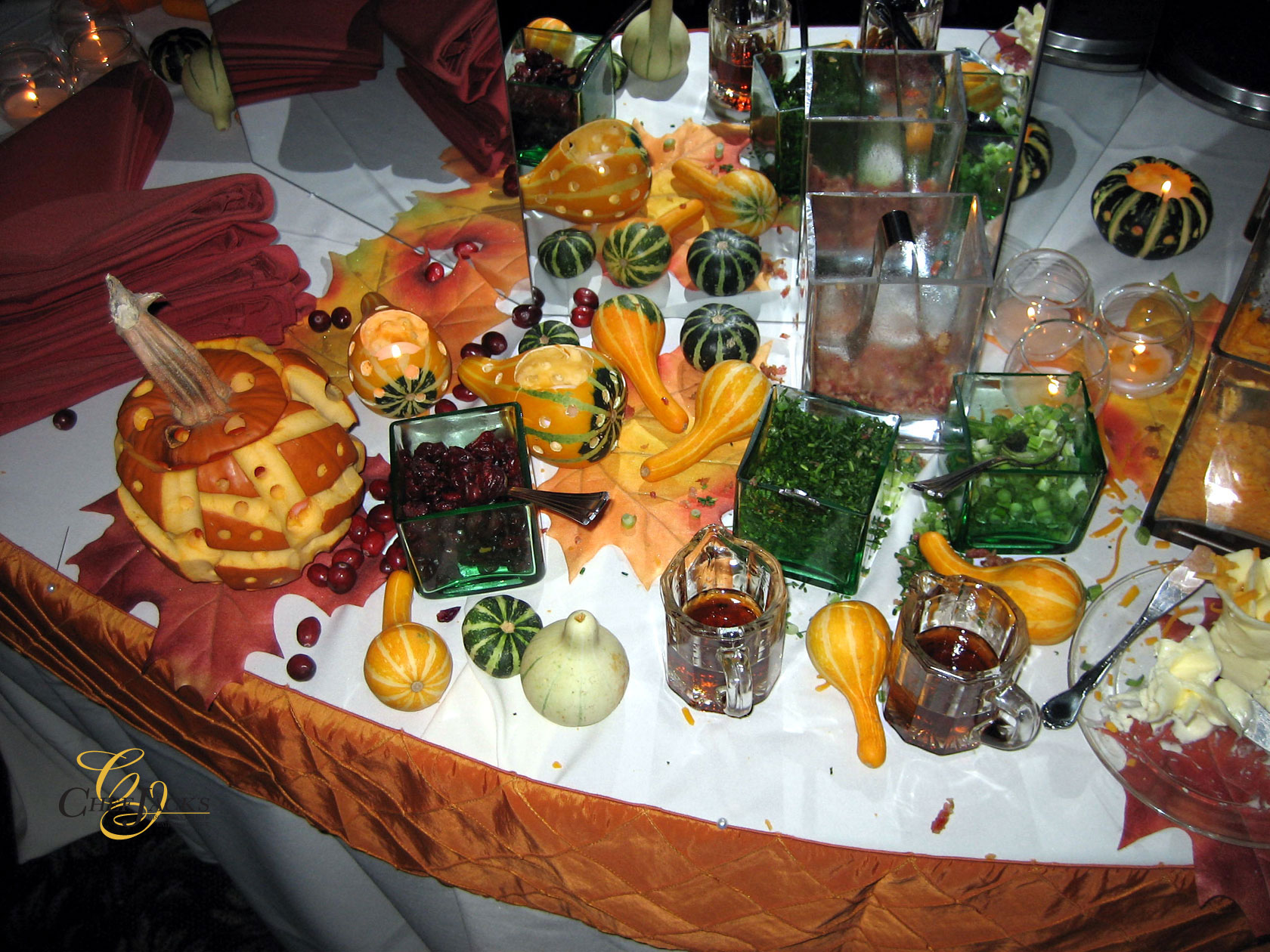 Milwaukee Catering for your Wedding. Autumn Wedding Menu Ideas that will inspire. Contact Chef Jack