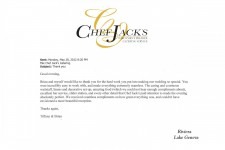 Chef Jack's Catering Reviews